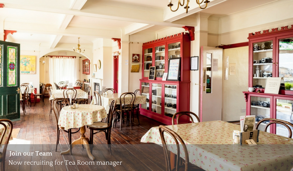Join Our Team Tearoom Manager