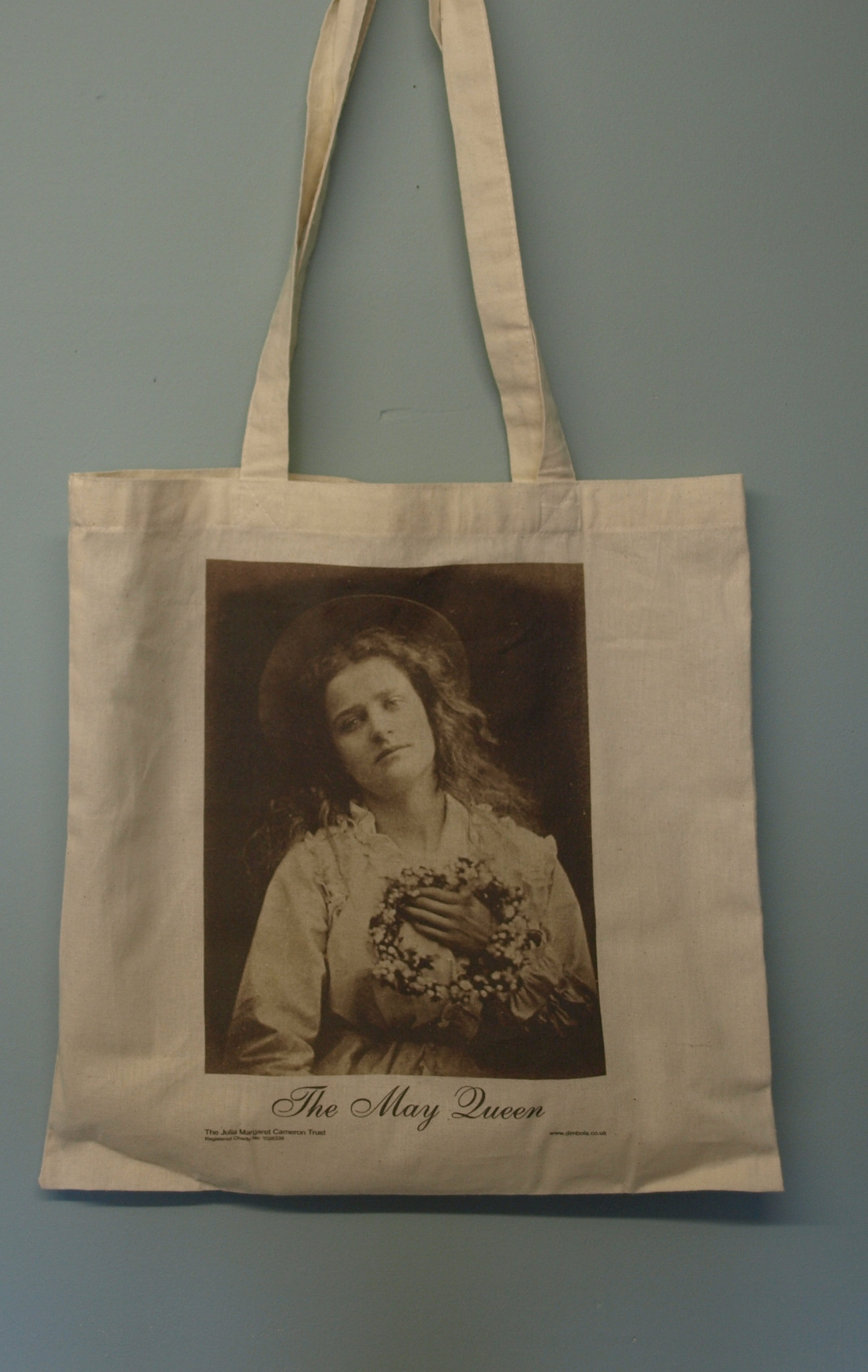 May Queen Julia Margaret Cameron Tote Bag