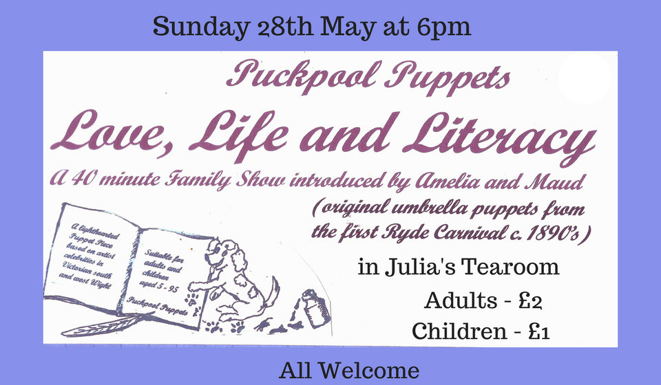 Love, Life And Literacy- Puckpool Puppets