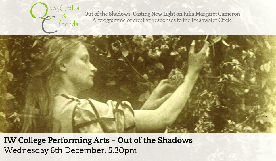 Out Of The Shadows With IW College Performing Arts Students