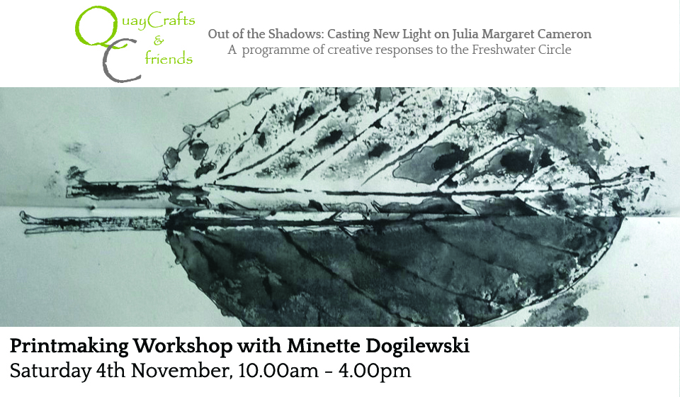 Printmaking Workshop With Minette Dogilewski
