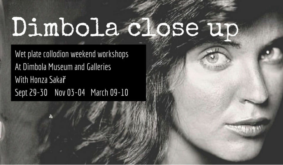 Dimbola Close Up- Wet Collodion Course
