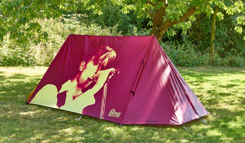 David Bowie Live Tent
